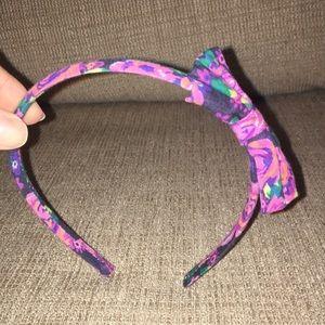Flowered hairband